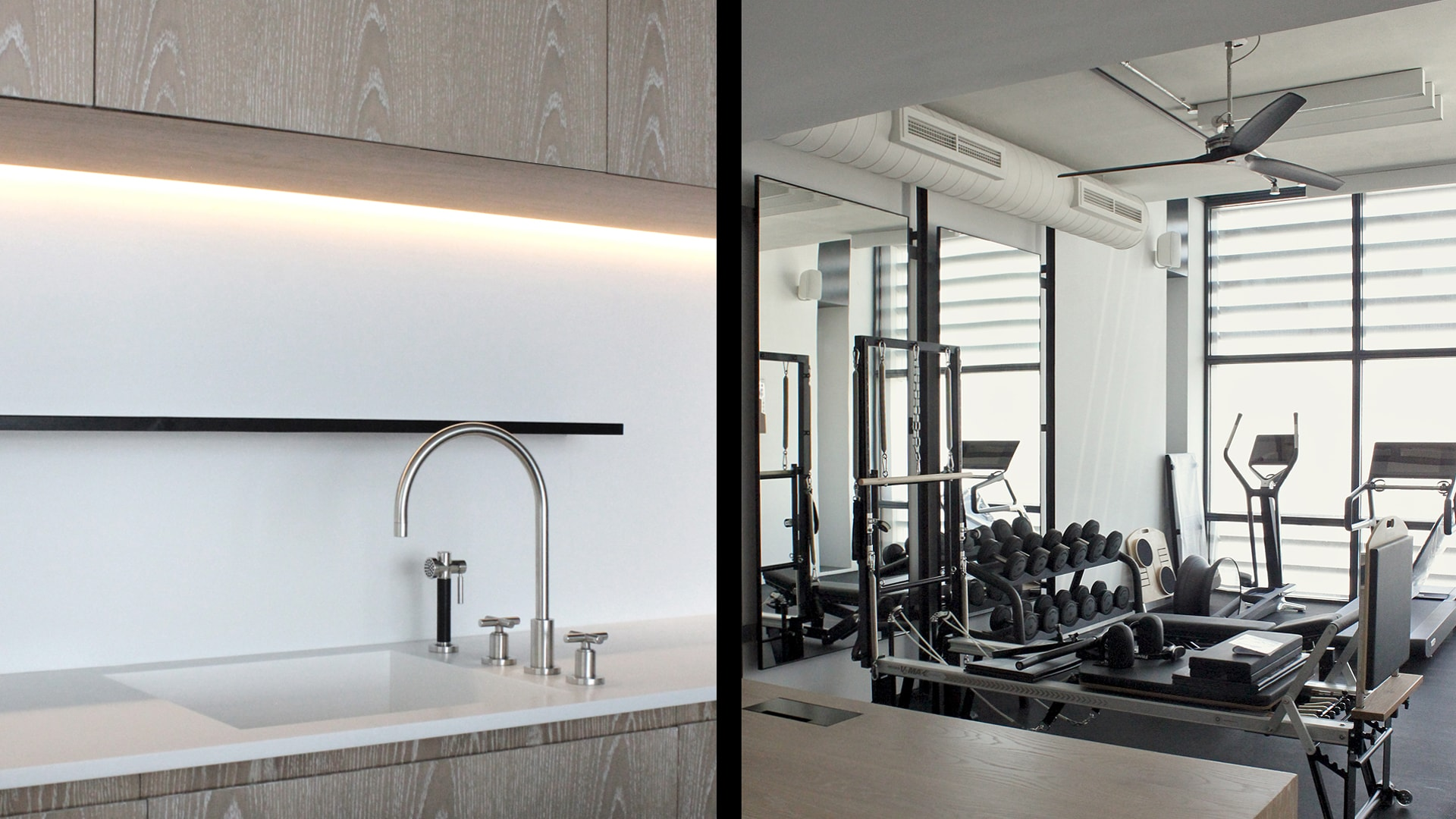 Private Spa & gym
